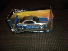 Jada Toys Fast and Furious Die Cast Car - Brian's Nissan Skyline GT-R (BNR34)