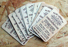 200 BIGLIETTI DA VISITA DI LEGNO - wood business cards