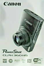 Canon PowerShot ELPH 360 HS 20.2MP Camera w/ 12x Optical Zoom and Wi-Fi
