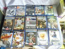 playstation 2 games x 15