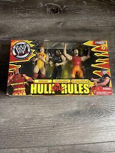 Jakks WWE Hulk Still Rules 3 Pack Hulk Hogan Action Figure Exclusive Box Set MIB