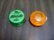 "Vintage Mosquito Yo-Yo By Duncan ""Green* Plus Bonus Orange Imperial"