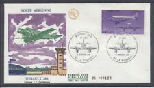 FRANCE FDC - A 59 2 AVION WIBAULT 283 - 11 Octobre 1986 - LUXE