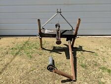 Bark Buster Auger Type Log Wood Splitter Spliter Tractor PTO Shaft Machine