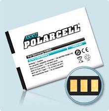 PolarCell Akku Samsung Galaxy Ace GT-S5830 und Gio GT-S5660 EB494358VU Batterie