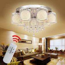 Kristall LED Dimmbar RGB Deckenlampe Deckenleuchte Wandlampe Hängelampe Luster