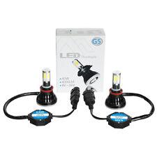 2PC 80W 6000k White H11 H9 H8 High Power LED Headlight Bulbs Light Conversion