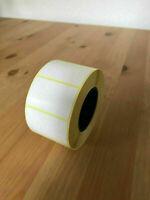 Prosperveil Klebeetiketten auf Rolle weiß selbstklebend wasserfest 40mm x 25mm