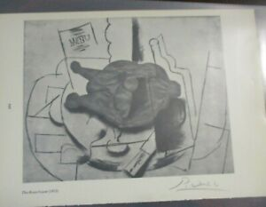 The Roast Goose Drawing 1913, Hand Signed by Pablo Picasso, in Plastic, w/COA