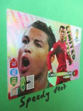 FIFA World Cup Brasil 2014 Limited edition Ronaldo Portugal  WM Panini Adrenalyn