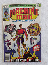Machine Man #10 (Aug 1979, Marvel) Vol #1 Newsstand Fine+