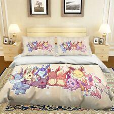 3D Duvet Cover for Pokemon P37 Japan Anime Bed Pillowcases Quilt Duvet Cover Acm