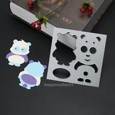 Panda Puzzle Metal Cutting Dies Stencil DIY Scrapbooking Album Paper Card Craft