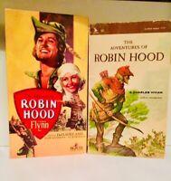 The Adventures of Robin Hood 1938 film (VHS and Vintage Paperback) Errol Flynn