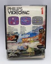 Jeux video pour console Philips Videopac 1, course voiture