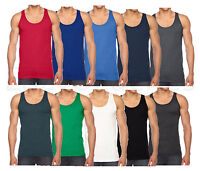 American Apparel 50/50 Tank Top, Men's UNISEX T-Shirt, Tee, 100% AUTHENTIC