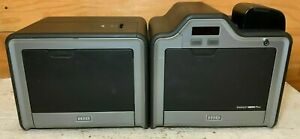 HID Fargo HDPii Plus HDP5000 Dual Sided Card Printer Encoder, No charger, No ink
