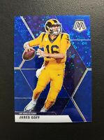 JARED GOFF 2020 Mosaic Huddle Disco  Blue Prizm /75