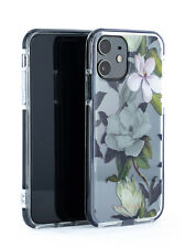 Ted Baker® Luxury Anti-Shock Clear Protective iPhone 11 Case Floral design OPAL