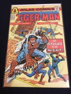 Tiger-Man #2 Gerry Conway Steve Ditko Very Fine- VF- (7.5) Atlas Comics 1975