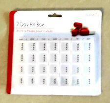 7 DAYS PILL BOX TABLET MEDICATION WEEKLY REMINDER MEDICINE DAILY ORGANISER CHEST