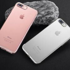 Fit for iPhone 7 Plus Chic Soft Silicone Clear Phone Case Cover Protector x2