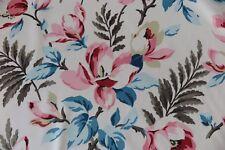 "ANDREW MARTIN CURTAIN/UPHOLSTERY FABRIC DESIGN ""Magnolia"" 6 METRES MULTI VELVET"
