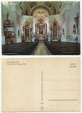 32560 - Ruhpolding - Pfarrkirche St. Georg - alte Ansichtskarte
