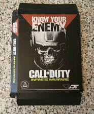 Call of Duty: Infinite Warfare Know Your Enemy (XBOX) Gun Codes Art Cards Rare