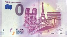 BILLET PARIS BATEAUX PARISIENS FRANCE 2019-1 N° SUITE 2322