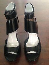 BNIB dv by DOLCE VITA (Sayde) Black Platform Sandals Women's Shoes – US 10 M