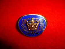 Canadian Enamelled Collar Badge / Pin, Sergeant Major