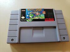 Yoshi's Safari (Super Nintendo Entertainment System 1993) Snes Game Clean Tested