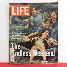 Endless Weekend Life Magazine Marshall Frady September 3 1971 VERY RARE ISSUE!