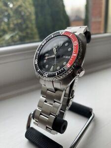 "Seiko SRP789 Prospex Turtle ""Coke Bezel"" on Strapcode Oyster bracelet"