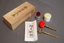 Holzstifte Mekugi Set aus Holz für Samuraischwerter