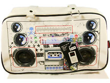 JAWBREAKER SPEAKER BAG BG3565WHITE WORKS ON IPHONE IPAD MP3 MUSIC PLAYING SCHOOL