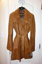 Leather Ladies Trenchcoat Trench Coat
