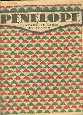 penelope - travaux de laine - 97  -  15/12/1934