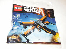 LEGO Star Wars 30278 Poe's X-Wing Fighter Episode 7 Polybag RARE NEW SEALED