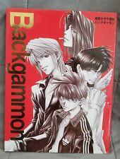 Saiyuki Kazuya Minekura Backgammon Art Book Illustrations Anime Manga