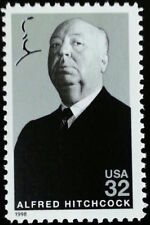 20 ALFRED HITCHCOCK STAMPS Legends of Hollywood Presents Hour Suspense The Birds