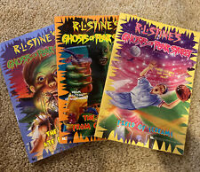 Ghosts of Fear Street By R.L. Stine lot Of 3 vintage Paperback books #11 21 22