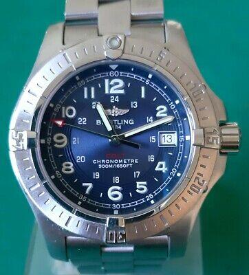 Orologio Uomo Breitling Colt Diver 500 metri. Men's watch A74380
