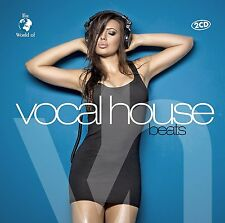 CD Vocal House Beats von Various Artists 2CDs