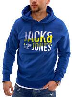 Jack & Jones Herren Hoodie Kapuzenpullover Sweater Sweatshirt Kapuzensweater