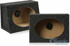 "NEW! Atrend 6X9PR 6"" x 9"" Speaker Boxes 3/4"" MDF Construction (1 Pair/2 Boxes)"