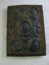 "Antique Wood Stove Door ""Forest 181"" Ornate 13"" T x 9 1/4"" W"