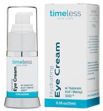 New in Box!Timeless Hydrating Matrixyl 3000+Hyaluronic Acid Eye Cream 0.5oz/15ml