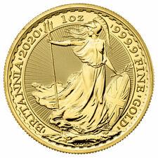 2020 Great Britain 1 oz Gold Britannia £100 Coin GEM BU PRESALE SKU59719
